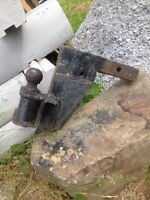 "Heavy duty 7"" Drop hitch"