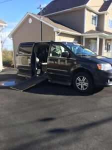 2012 wheelchair accessible van