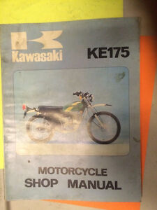 Kawasaki KE175 Motorcycle Shop Manual