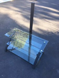 3 Tier TV Glass Stand - Delivery Included - Excellent Condition!