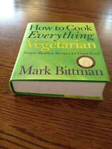 How To Cook Everything Vegetarian Cookbook Peterborough Peterborough Area image 2