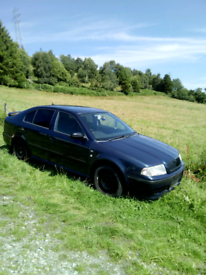 Skoda Octavia TDI for scrap or repair