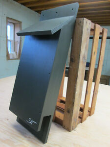 Bat House, 2 Compartments, suits 60 to 70 Bats, Insect Control