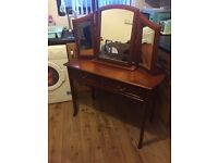 Parker knoll dressing table !! And mirror!!