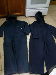 Insulated Coveralls (New) Size XL – 2 Pairs (from Mark's)