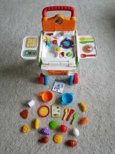 Vteck 2-in-1 Shop and Cook Playset