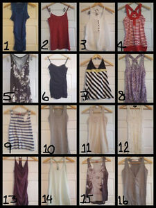 Robes/Chandails/Camisoles/Etc.. à vendre