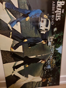 Beatles Abbey Road Large Poster