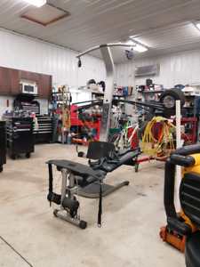 Sears Bowflex complete - it needs a home