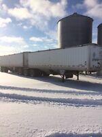 Wilson SuperBee Grain trailer