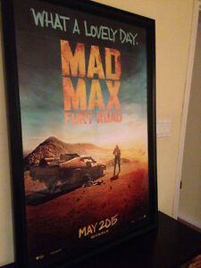 MAD MAX FURY ROAD - ORIGINAL DOUBLE SIDED MOVIE POSTER MINT
