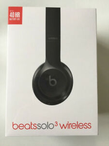 Beats Solo3 Wireless Gloss Black Headphones