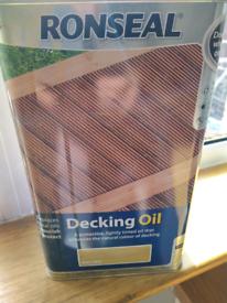 Ronseal Decking Oil Natural 5l tin