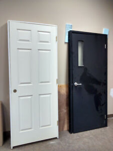 "Two 32"" interior doors"