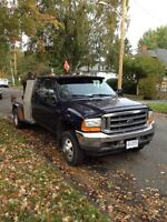 2001 Ford F-350 with or without welding deck and equipment