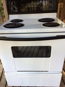 White Kenmore Oven