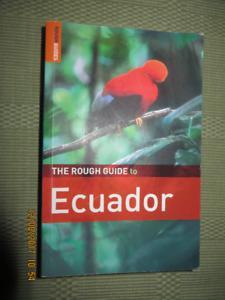 """new """"ECUADOR""""  travel book"""