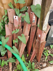 Fence post supports