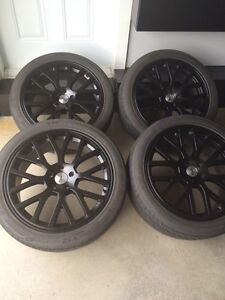 """20"""" tsw rims and tires"""