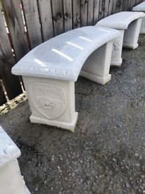 Concrete Football Bench Seats