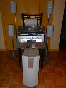 DVD Home Audio System with record player