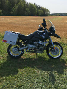 2002 BMW R 1150 GS adventure touring motorcycle