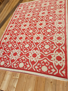 Colourful Red Outdoor Rug
