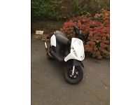Piaggio Zip 70cc stage 6 65 plate 2016 very fast