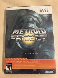 Metroid Prime: Trilogy - Collector's Edition(Nintendo Wii, 2009)