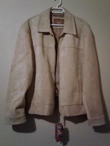 Emporio E.G.A Suede Jacket