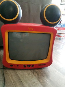 DISNEY. Old school kids television. Works perfectly!