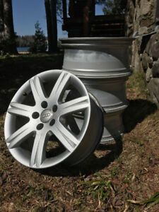 "AUDI Original Wheels Like New - 17"" - P245/45R17"