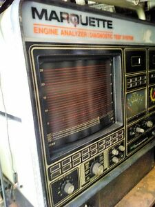 MARQUETTE  ENGINE ANALYZER DIAGNOSTIC TEST SYSTEM