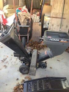 8hp chipper/shredder
