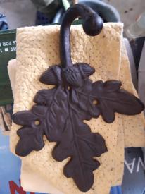 Metal coat hook - National Trust