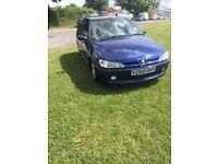 Peugeot 306 2000 28k miles 1 years mot