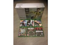 Xbox one s 500gb , 6 games