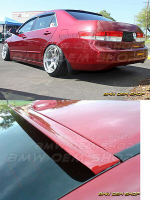 UNPAINTED FOR  HONDA ACCORD 7 SEDAN K-STYLE ROOF SPOILER WING 03-07