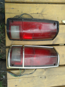One pair used 1988 Chevy GMC Tail lights Part # 5973311