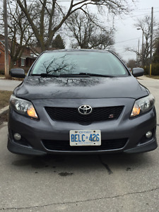 2009 Toyota Corolla S-One Owner