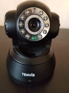 TENVIS wireless security IP camera with night vision