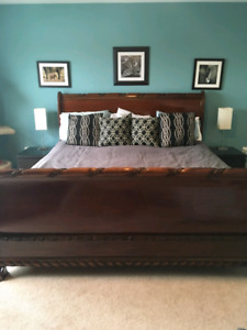 King size Sleigh Bed frame