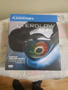 AFTERGLOW AG 9+ Ps4 wireless headset