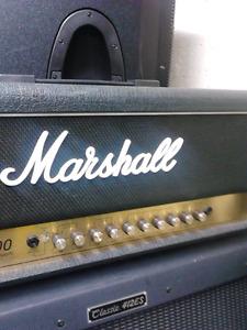 Marshall JCM900 Dual Reverb 100W plus Cab Peavey 4X12 300W