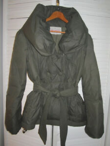 Winter Jacket - Down and Feather -Large - good condition
