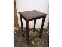 Coffee table in hard wood