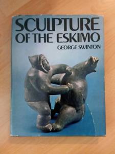 Livre Sculpture of the Eskimo version anglaise