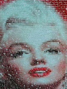 Marilyn Monroe poster on hardboard London Ontario image 2