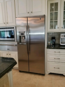 GE Profile Counter depth 25 cu. Ft side by side refrigerator