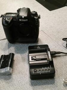 Nikon D2XS professional camera. Around 15000 shutter count.